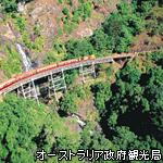 熱帯雨林キュランダ高原列車 イメージ